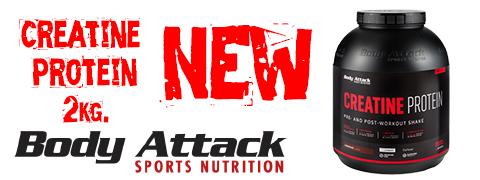 Creatin Protein Body Attack