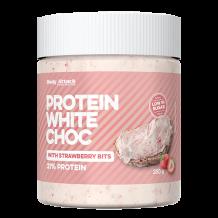 Protein White Choc Strawberry - 250g